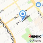 Радиолюбитель на карте Барнаула