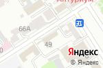 Схема проезда до компании Радиолюбитель в Барнауле