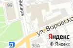 Схема проезда до компании Созвездие в Барнауле