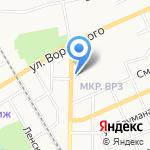 Эконом-стиль на карте Барнаула