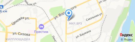 Виртуоз на карте Барнаула