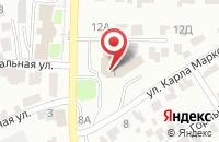 Схема проезда до компании Статус в Барнауле