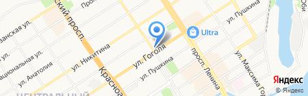 Мир инструментов на карте Барнаула