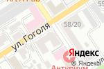 Схема проезда до компании Служба взаимодействия со страхователями в Барнауле