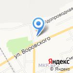 Разноторг на карте Барнаула