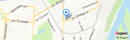 Энерго-Сервис на карте Барнаула