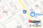 Схема проезда до компании Квартет в Барнауле