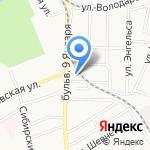 Эскорт-Сервис на карте Барнаула