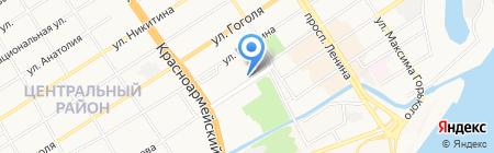 Спортландия на карте Барнаула