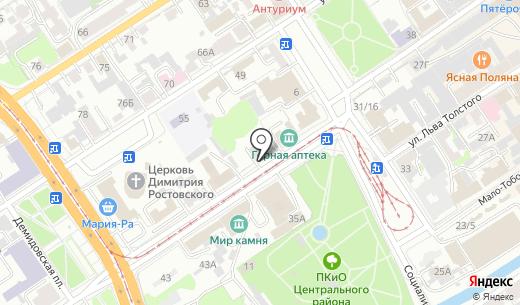 Эскор-Авто. Схема проезда в Барнауле