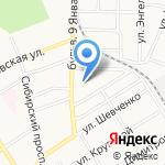 ЭКОСЕРВИС на карте Барнаула