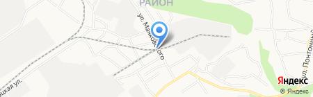 МетАл на карте Барнаула