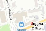 Схема проезда до компании Сибирский текстиль в Барнауле
