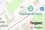 Схема проезда до компании Эскор в Барнауле