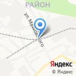 НовоМет на карте Барнаула