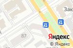 Схема проезда до компании АИСТ БИЗНЕСМЕТРИКС в Барнауле