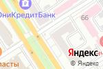 Схема проезда до компании Мясная Карта в Барнауле