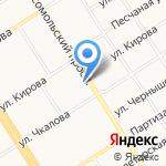 Квартет на карте Барнаула