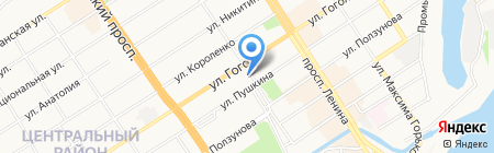 Антуриум на карте Барнаула