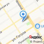 Комитет жилищно-коммунального хозяйства города Барнаула на карте Барнаула