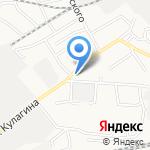 Сибстайл на карте Барнаула