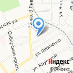 Союзник на карте Барнаула