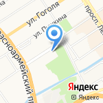 Государственная филармония Алтайского края на карте Барнаула