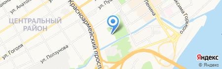 АвтоМакси на карте Барнаула
