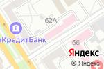 Схема проезда до компании Городская поликлиника №1 в Барнауле