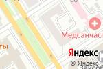 Схема проезда до компании Белошвейка в Барнауле