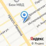 Центр противопожарной пропаганды и общественных связей на карте Барнаула