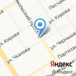 Эго на карте Барнаула