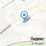 Оксиб на карте Барнаула