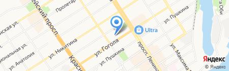 Ремонтно-отделочная компания на карте Барнаула