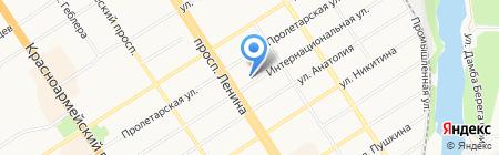 Гомеопатический центр на карте Барнаула