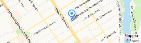 RestoSTAFF на карте Барнаула