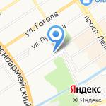 Горная Аптека на карте Барнаула