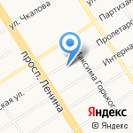 Управление Федеральной антимонопольной службы по Алтайскому краю на карте Барнаула