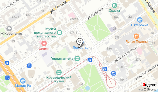 Аква Базис. Схема проезда в Барнауле
