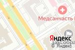 Схема проезда до компании Тугун в Барнауле