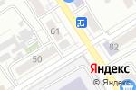 Схема проезда до компании Здравствуй в Барнауле