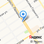Нотариус Глуховченко В.М. на карте Барнаула