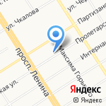 Центр экологической документации на карте Барнаула