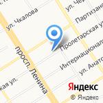 Образ-Алтай на карте Барнаула