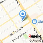 Управление социальной защиты населения по г. Барнаулу на карте Барнаула
