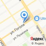 Аrt-logo на карте Барнаула