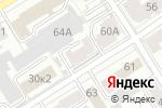 Схема проезда до компании РегионТрейд в Барнауле