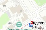 Схема проезда до компании Ломбард Кристалл в Барнауле