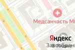 Схема проезда до компании Грин в Барнауле