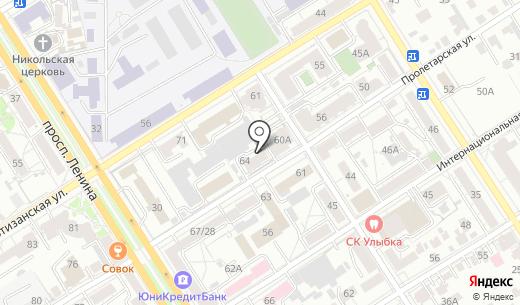 АлтайМедВед. Схема проезда в Барнауле